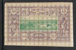 COTE DES SOMALIS N°11 N* - Côte Française Des Somalis (1894-1967)