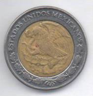 MESSICO 1 PESO 2001 BIMETALLICA - Messico