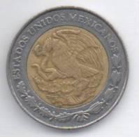 MESSICO 1 PESO 1996 BIMETALLICA - Messico