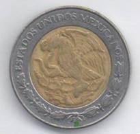 MESSICO 1 PESO 1995 BIMETALLICA - Messico