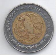 MESSICO 1 PESO 1993 BIMETALLICA - Messico