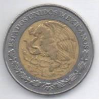 MESSICO 2 NUEVOS PESOS 1995 BIMETALLICA - Messico