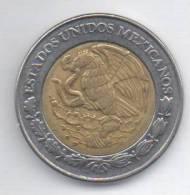 MESSICO 2 NUEVOS PESOS 2000 BIMETALLICA - Messico
