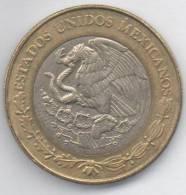MESSICO 10 PESOS 2004 BIMETALLICA - Messico