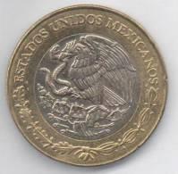 MESSICO 10 PESOS 1997 BIMETALLICA - Messico