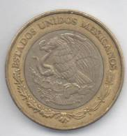 MESSICO 10 PESOS 2000 BIMETALLICA - Messico