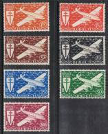 COTE DES SOMALIS AERIEN N°1 à 7 N** - Côte Française Des Somalis (1894-1967)