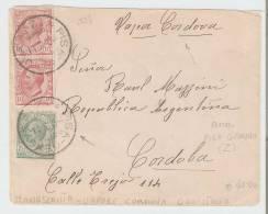 1118 - Storia Postale  -  Destinazioni All´Estero  -  Italia - Argentina - 1900-44 Victor Emmanuel III