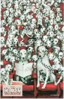 Disney 101 Dalmatiers   Dalmatiens  Dalmatians Dalmatas BD Strip Kaart - Disney