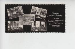 B 8370 BLANKENBERGE, Taverne Bristol-Dancing, Taverne Georges-Attractions - Werbekarte - Blankenberge