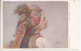 Carte Postale Illustrée Par Stachie Wicz Polonias - Russie