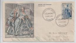 Premier Jour De Célimène 19 Sept 1953 à Paris - FDC