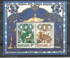 DENMARK 1999 - SPRING - SOUVENIR SHEET - USED OBLITERE GESTEMPELT USADO - Danemark