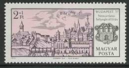 Hungary Ungarn 1971 Mi 2647 A ** Buda (1600) Coat Of Arms / Stadtwappen / Armoiries - Postzegels