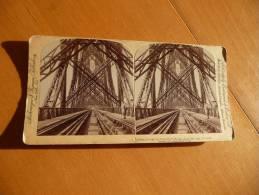 Photo Stéréoscopique New York. Great Forth Bridge.Strohmeyerand Wyman - Lieux