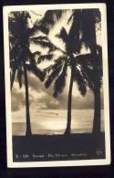 HONOLULU    Sunset Ala Moama   Old Postcard 1938 - Honolulu