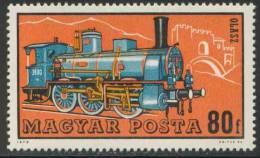 Hungary Ungarn 1972 Mi 2732 A ** Class 380 (1894), Italy, Railway Steam Locomotive /Dampflokomotive - Italien - Treni