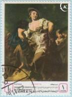 1968 - YEMEN - Y&T 252B - Giovanni Battista Piazzetta (1683-1754) - L'Indovino - Yémen
