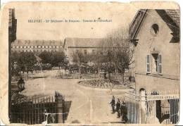 Carte Belfort 11e Régiment De Dragons Militaria - Belfort - Stad