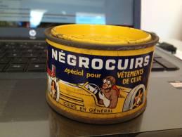 """BOITE DE CIRAGE """" NEGROCUIRS """" POUR VETEMENT CUIRS - Autres Collections"""