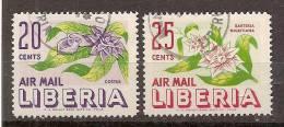 Liberia   Luchtpost  Y/T     89 / 90     (O) - Liberia