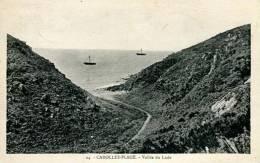 N°25915 -cpa Carolles Plage -vallée Du Lude- - Autres Communes