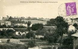 N°25931 -cpa Vienne Le Château En Voie De Reconstruction- - Autres Communes