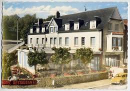 BAGNOLES DE L'ORNE--1963--Hotel De La Forêt (voiture Renault 4 CV) Carte Publicitaire De L'hotel Cpsm N° 89 éd Artaud - Bagnoles De L'Orne