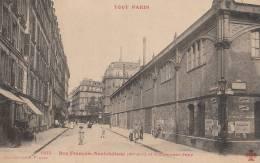 TOUT PARIS N° 1105   XI°  Rue François Neufchateau Animée  GYMNASE JAPY - District 11