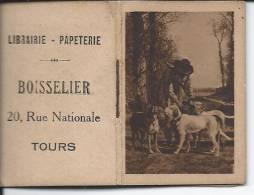 Calendrier 1917 En Petit Livret 3.7 X 5.5 Cm - Librairie Boisselier à Tours - Calendriers