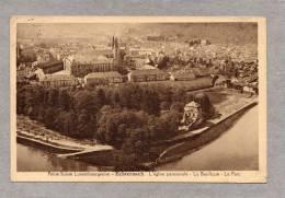 """32862       Lussemburgo,    Echternach -  L""""eglise  Paroissiale  -  La  Basilique  - Le  Parc,  VG  1931 - Echternach"""
