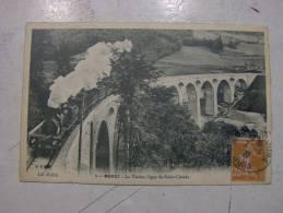 Carte Postale  - MOREZ Du Jura (39) - Le Viaduc, Ligne De St Claude - TRAIN (17/892) - Morez