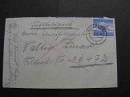 == DR  Feldpost Augsburg 1942 - Allemagne
