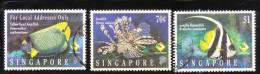 Singapore 1995 Care For Nature: Fish Used - Singapore (1959-...)