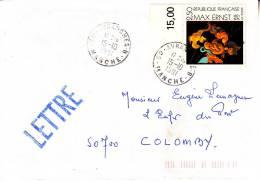 LSI 2787 Avranches B (Petit Bureau) Colomby Barres De Tri - 1961-....