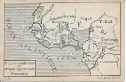 Afrique Occidentale Et Afrique équatoriale Françaises - Cartes Postales