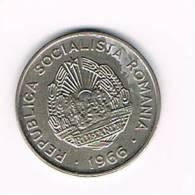 ROEMENIE  15 BANI  1966 - Roumanie