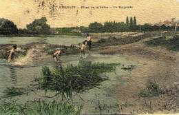 78 Houilles, Rives De La Seine, La Baignade - Houilles