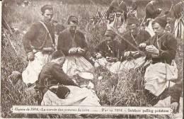 Guerre De 1914 - La Corvée Des Pommes De Terre (carte Bon état) - Weltkrieg 1914-18