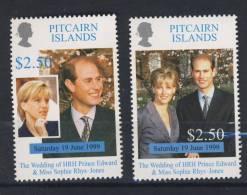 PITCAIRN 1999 PRINCE EDWARD  Scott N°505/06 NEUF MNH** - Pitcairn