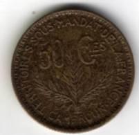 CAMEROUN -  50 Centimes - (territoire Sous Mandat ) - 1926 - Bronze- Aluminium - TTB - Cameroun