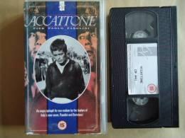 ACCATTONE PIER PAOLO PASOLINI //  VHS CASSETTES - Politie & Thriller