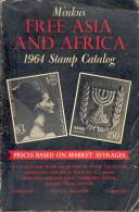 MINKUS FREE ASIA AND AFRICA 1964 STAMP CATALOG CUAC - Postzegelcatalogus