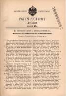 Original Patentschrift - Dr. Hermann Aron In Charlottenburg , 1902, Münzensortierer Für Gas- Und Elektrizitätsverkäufer - Historische Dokumente