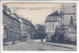 BITCHE 57 - Monument Des Morts De La Guerre Et Place Jeanne D'Arc - CPA N° 7 - Moselle - Bitche