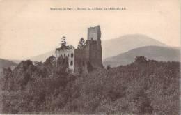 67 - Environs De Barr - Ruines Du Château De Spesbourg - France