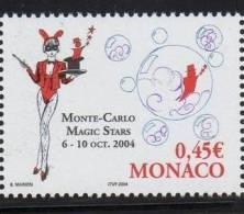 2004 - MONACO - FESTIVAL MAGIC STARS. MNH - Monaco
