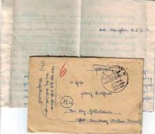 1013u: Feldpost Bad Wimpfen Mit Werbestempel 3.11.44 - 1939-45