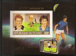 CHAD World Cup Football (not Dentate) - Copa Mundial