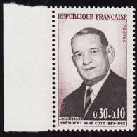 FRANCE 1964   -  Y&T  1412   -  COTY - NEUF ** Bord De Feuille - Francia